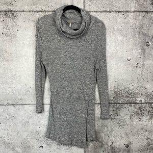Free People // Grey Turtleneck Sweater
